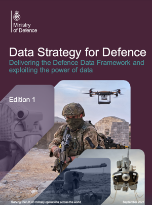 MOD publishes 'Data Strategy for Defence' to exploit the power of info