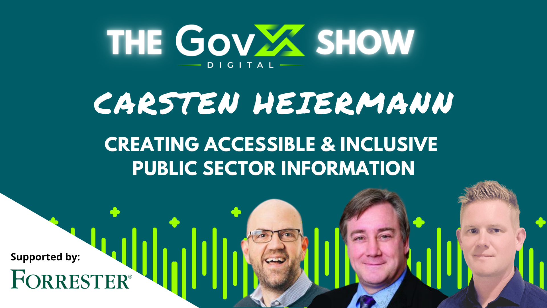 GovX Show #40: Creating Accessible and Inclusive Public Sector Information