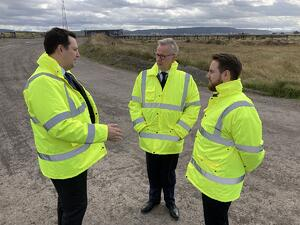Secretary of State for Levelling Up makes Teeside his first visit