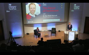 Ditchley 2: Matt Hancock and the Future of UK Government