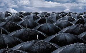 A 'Hard Rain' is forecast for Whitehall