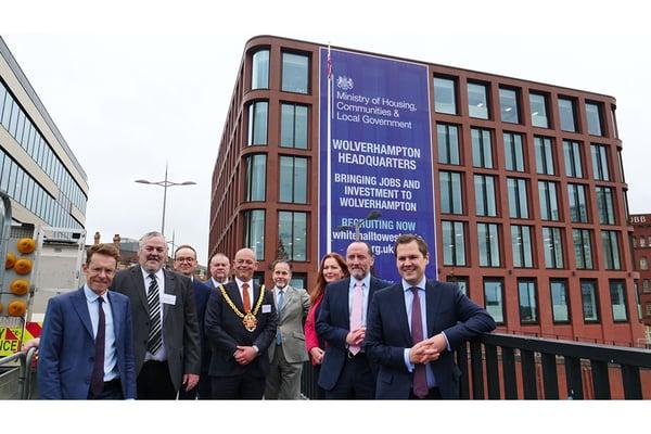 MHCLG unveils second HQ building, in Wolverhampton
