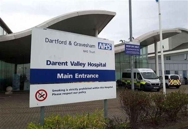 Dartford and Gravesham NHS Trust secures healthcare IoT device ecosystem