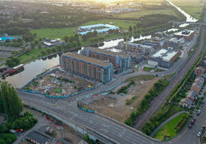 Peterborough civil service hub for Defra, HMPO