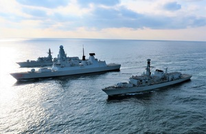 Royal Navy trials use of AI at sea for first time
