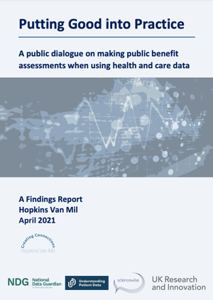 Transparency essential to show that data is used for public benefit