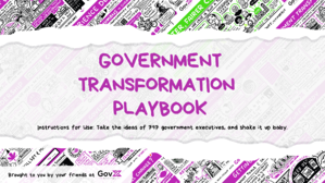 Government Transformation Playbook