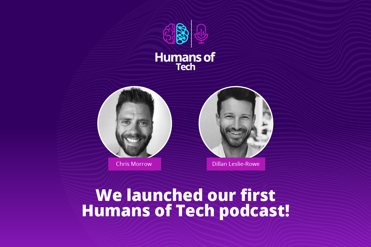Introducing Humans of Tech, our brand new podcast