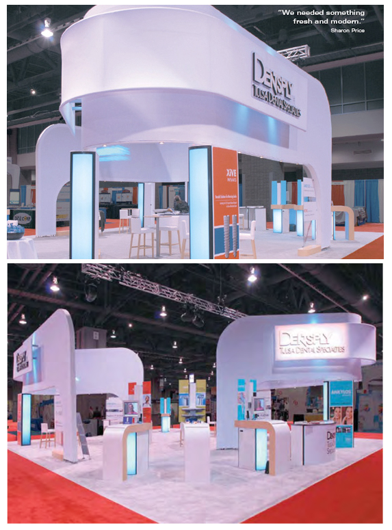 Trade Show Booth Objectives : Tradeshow exhibit displays dentsply