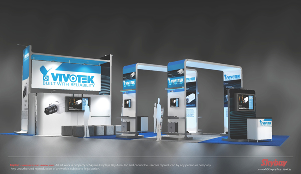 Ultramodern booth design: vivotech