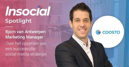 Insocial | Interview: Bjorn van Antwerpen | Social Media Strategieën