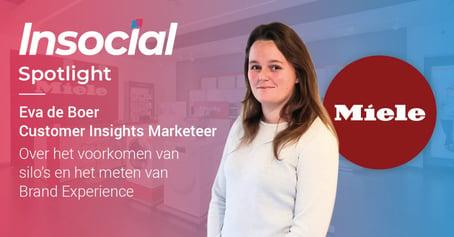 In the spotlight: Eva de Boer van Miele | Klant aan het woord