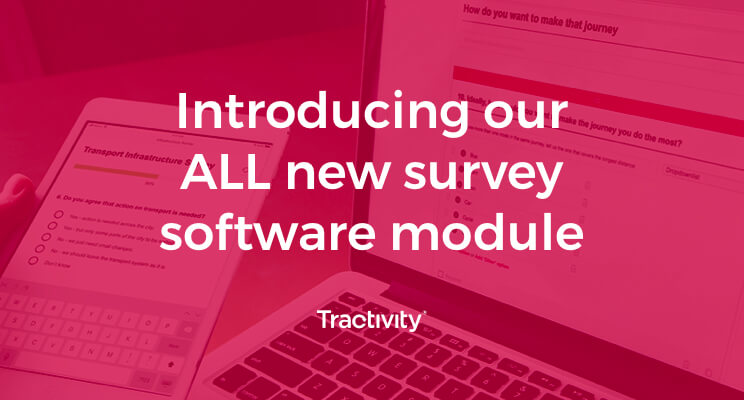 Introducing our ALL new survey software module