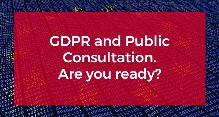 GDPR and Public Consultation