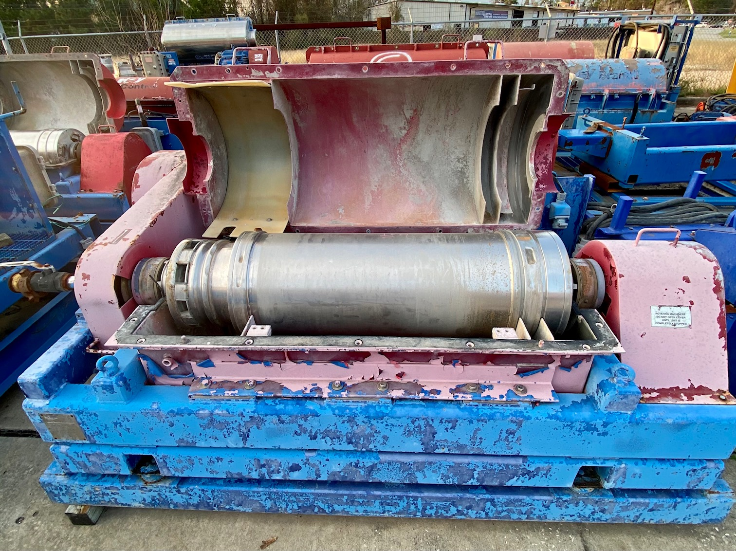 R&M Used centrifuge HS3400 After