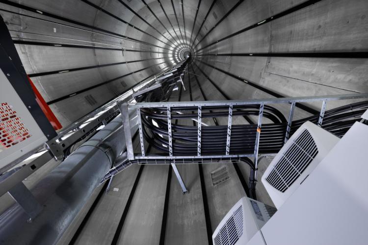 Nordex社の風力タービン:安全な高所設置