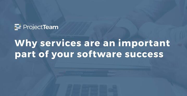 Why services are an important part of your software success
