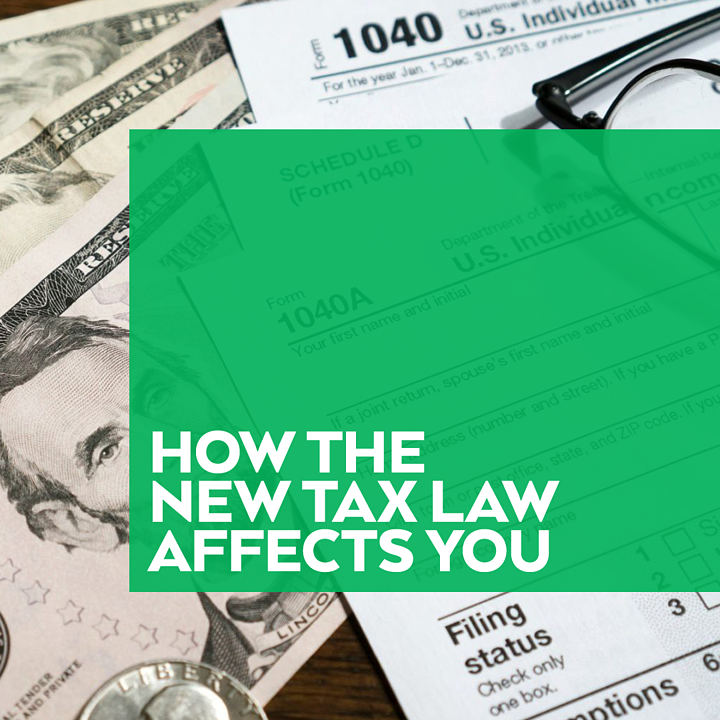 How New Tax Law Affects You