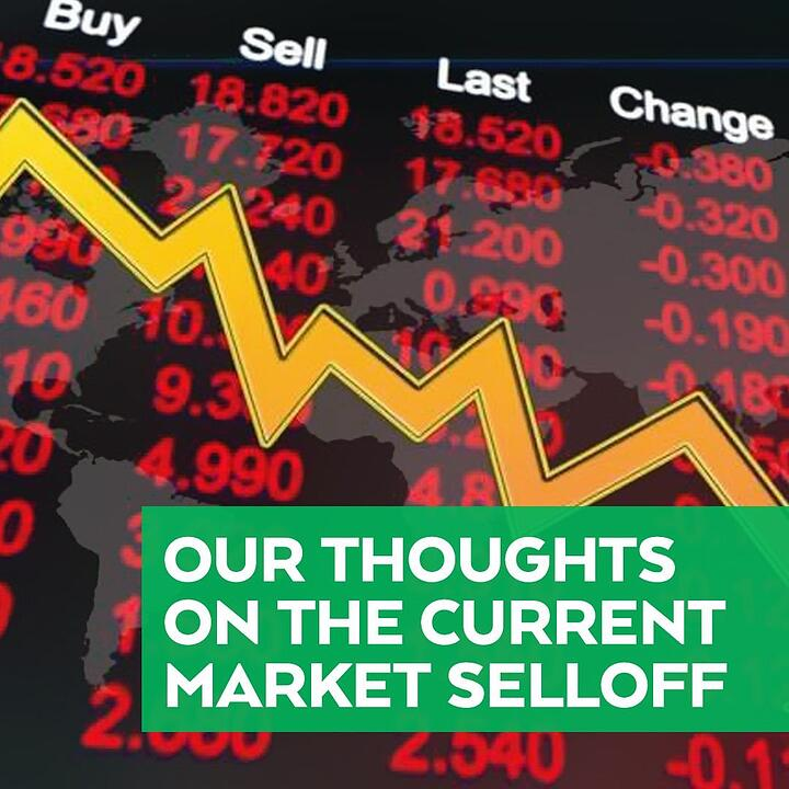 Our Thoughts on the Current Market Selloff