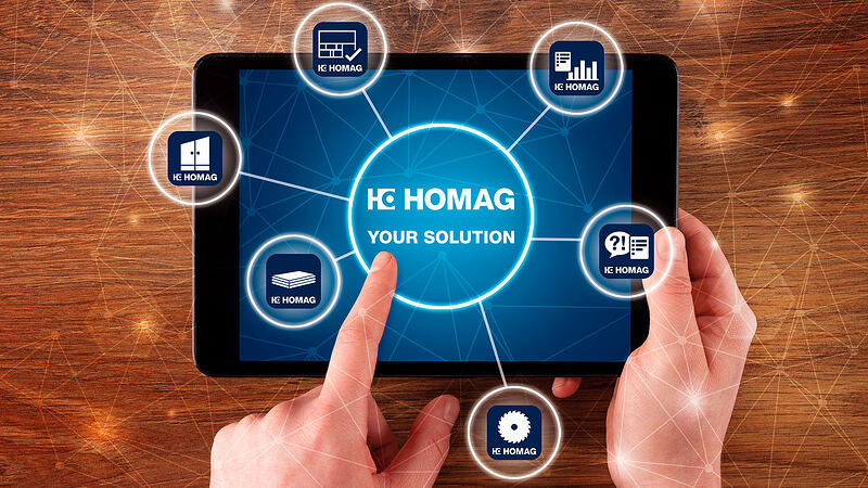 HOMAG iX – Talk about Efficiency from DESIGN to MACHINE