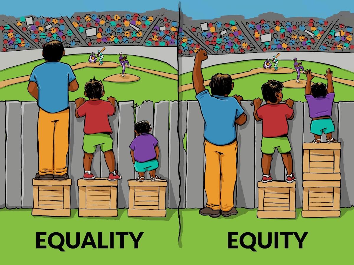 Equality-v-equity