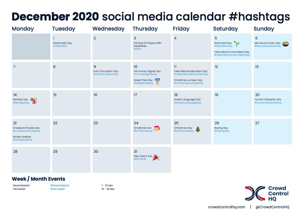 December-2020-hashtags-calendar