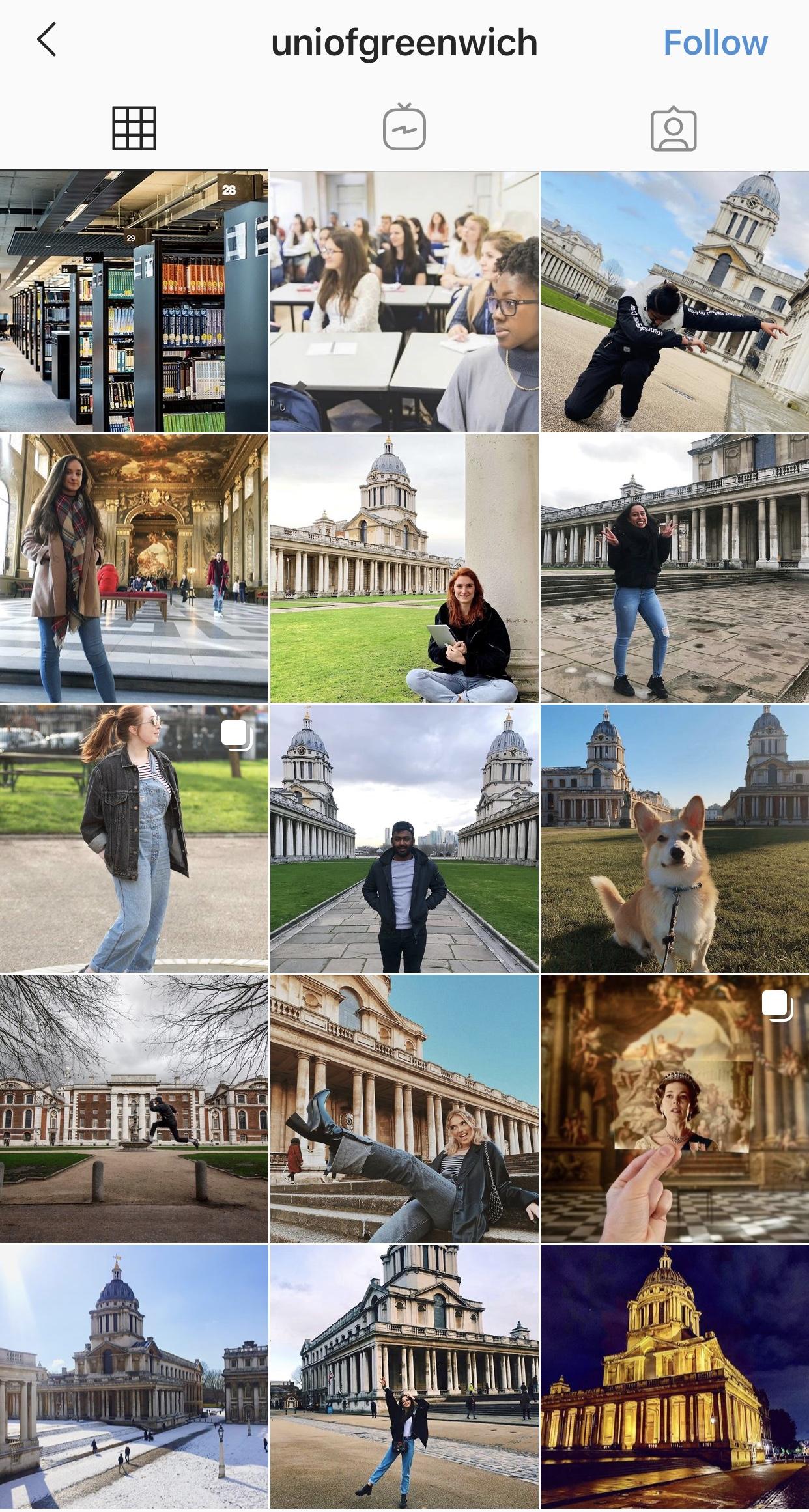 Greenwich-Uni-Instagram
