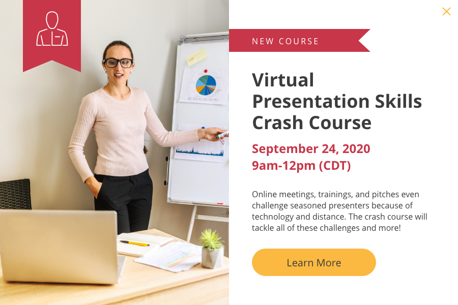 virtual presentation skills crash course
