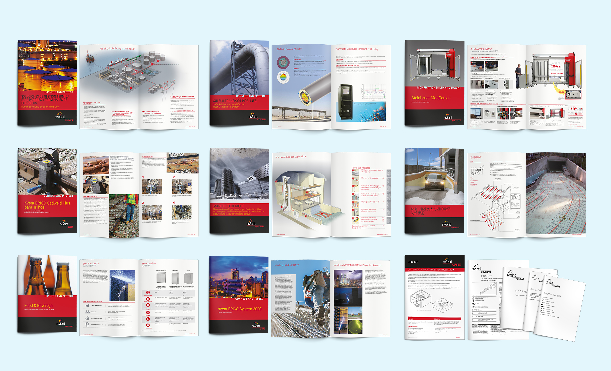 Accurate and comprehensive product brochures are key to the sales strategy for a business such as Pentair