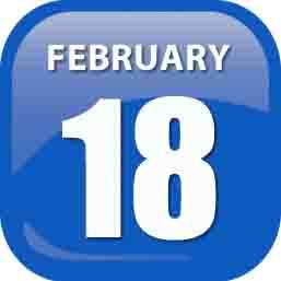 February 18