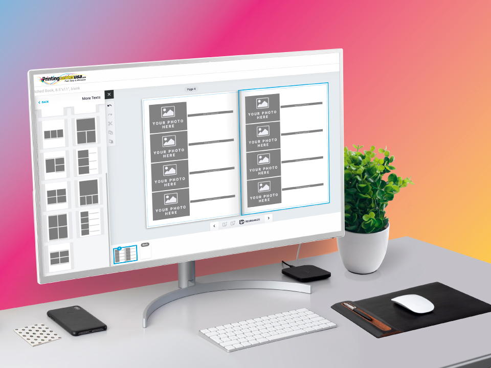 PrintingCenterUSA Online Catalog Design Tool