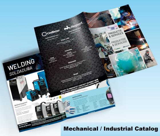 Mechanical and Industrial Catalog Mockups