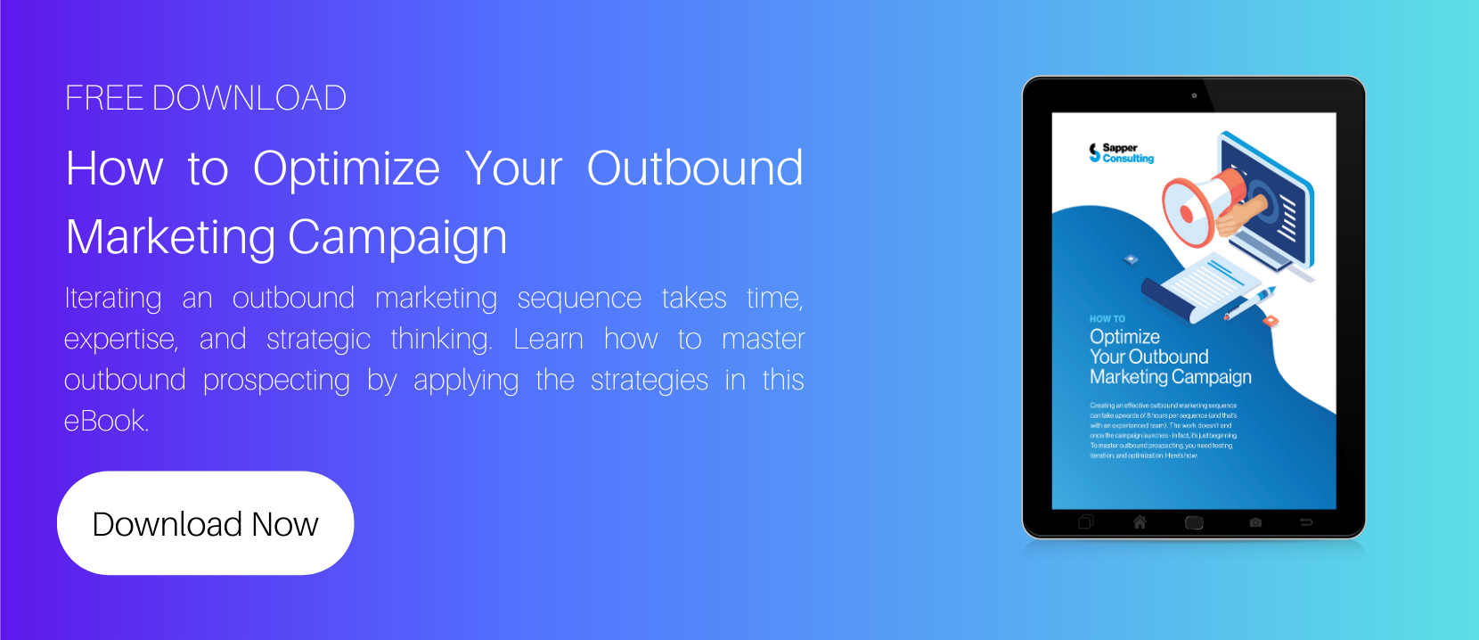 How to Optimize Your Outbound Marketing Campaign