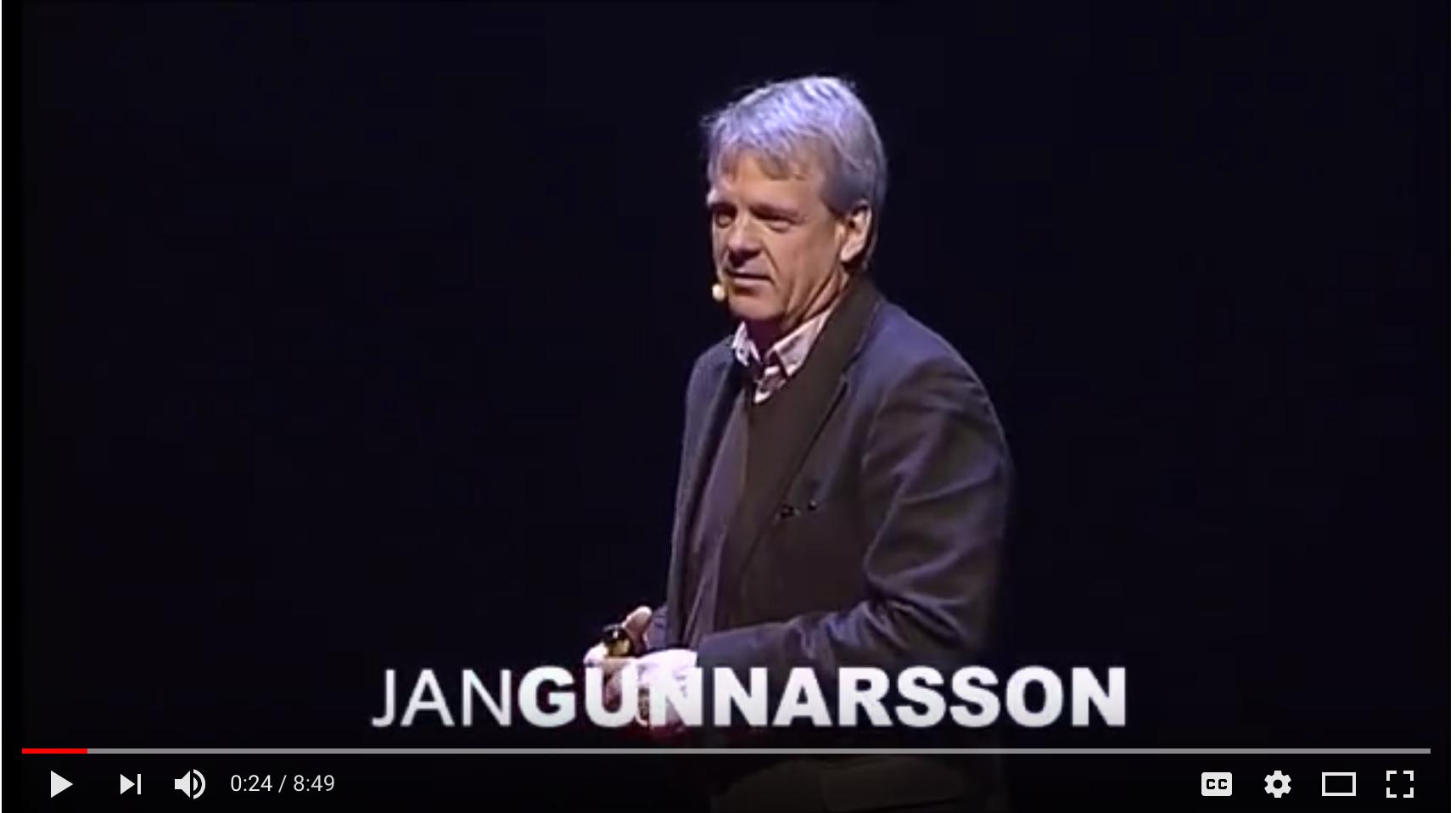 Jan Gunnarsson - Hostmanship: the art of making people feel welcome - Tedx Talks