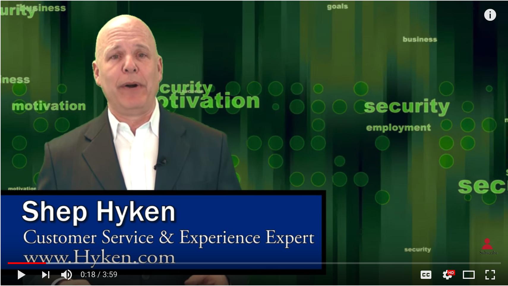 Shep Hyken - Customer Service Expert: How to Provide a Better Customer Experience