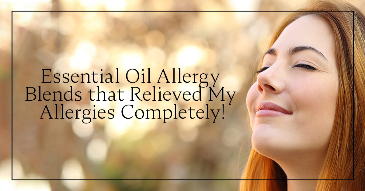 Photo of Essential oil allergy blends that completely relieved my allergies!