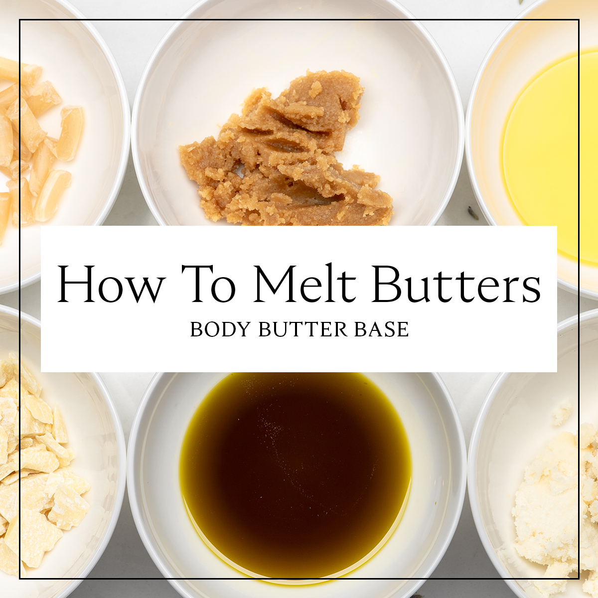 How to Melt Shea Butter for DIY Body Products