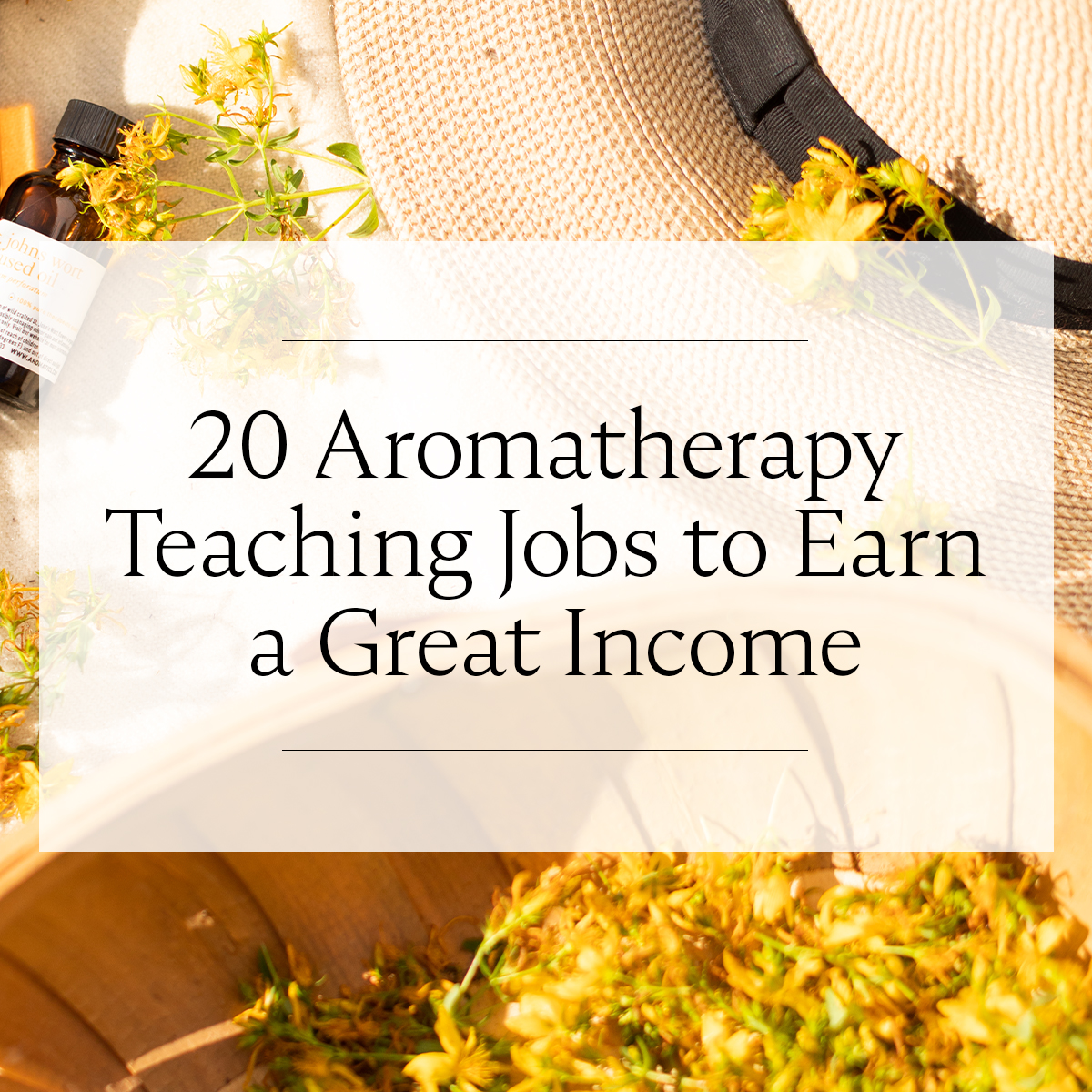 20 Aromatherapy Teaching Jobs to Earn a Great Income