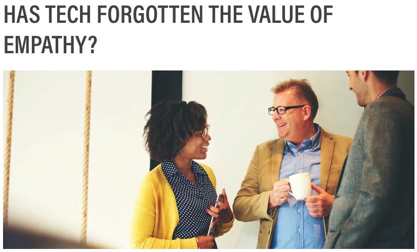 Has Tech Forgotten the Value of Empathy Golden Spiral B2B Tech Marketing
