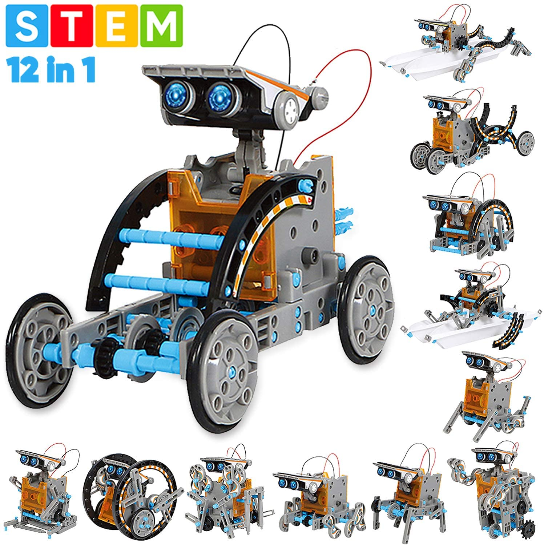 12-in-1 Solar Robot