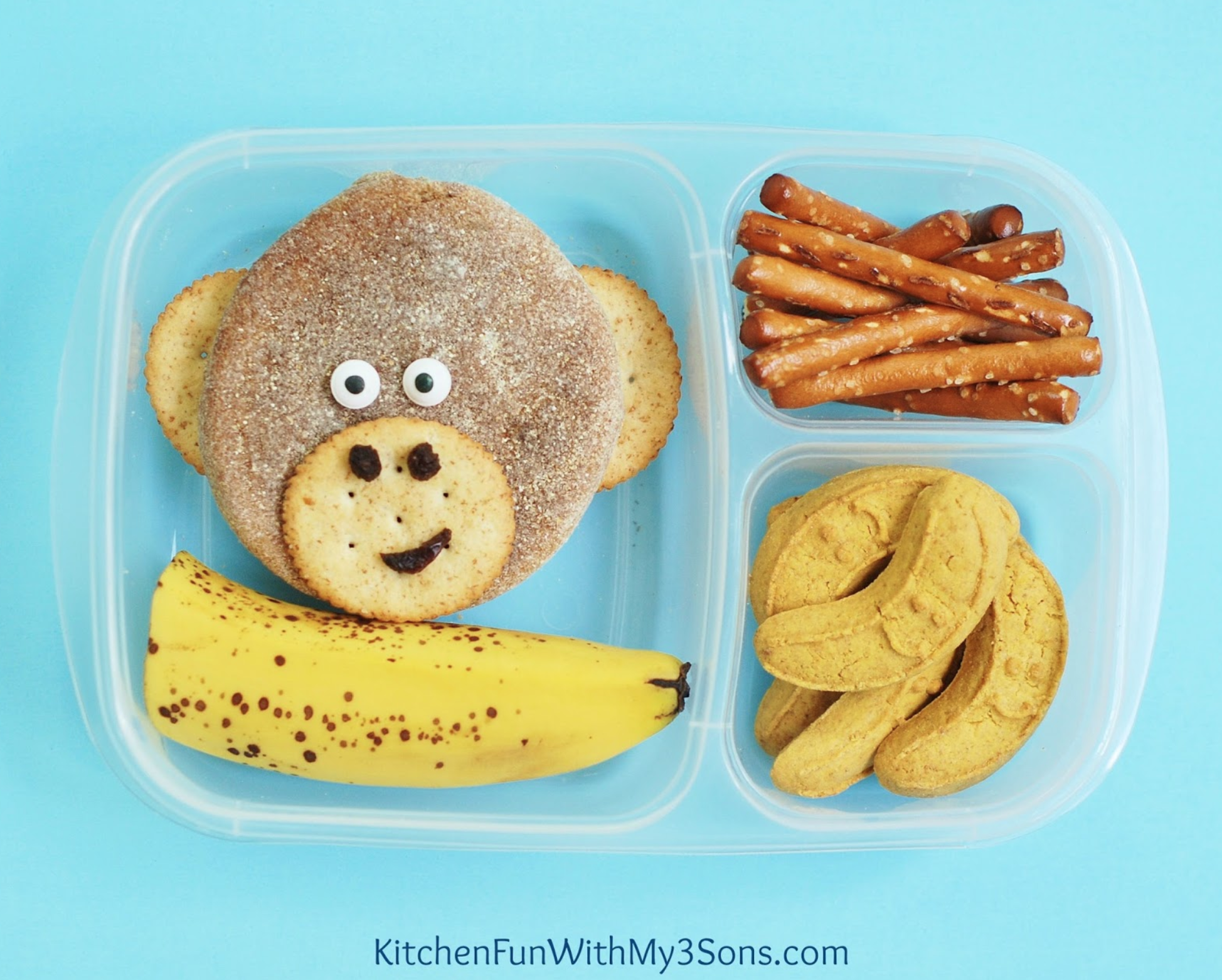 Monkey Lunch Kitchen Fun with My 3 Sons