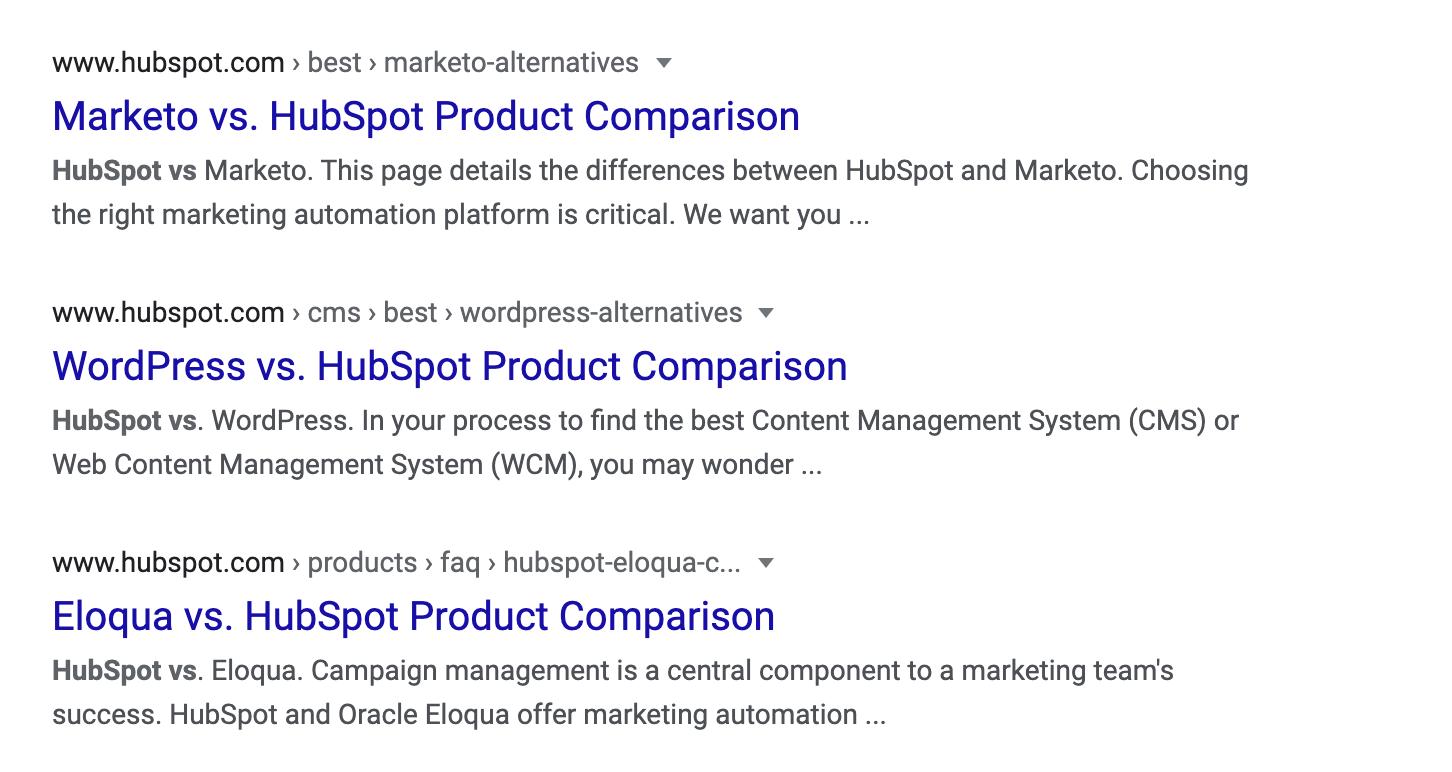 hubspot-comparisons