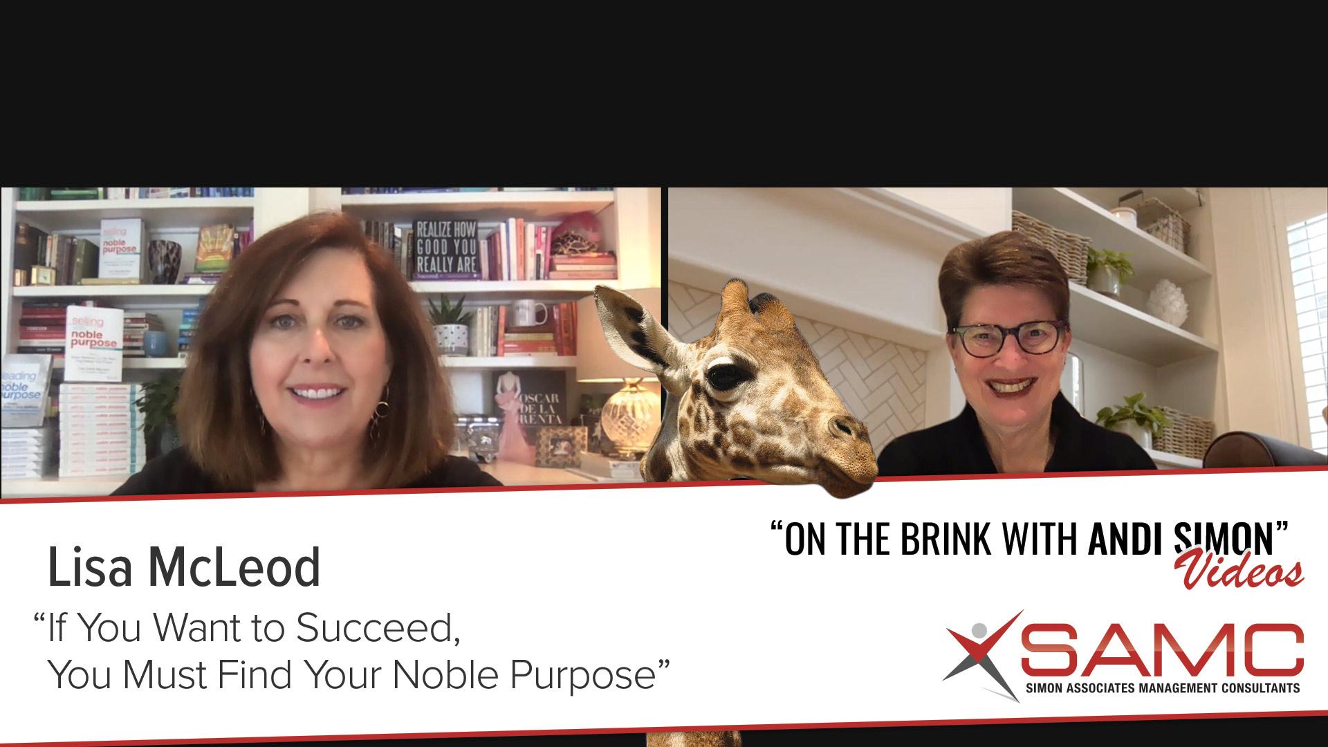 Lisa McLeod video