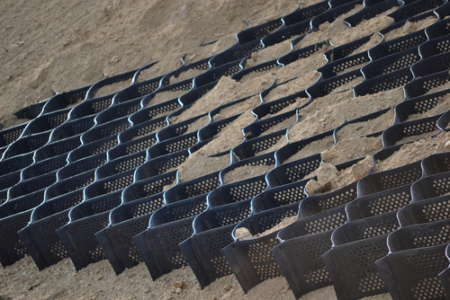 geogrids slope stabilization
