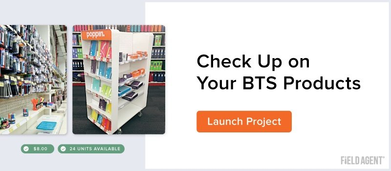 Check Up on Your BTS Products with Field Agent
