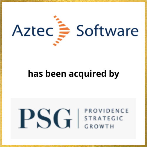 Aztec Software has been acquired by PSG