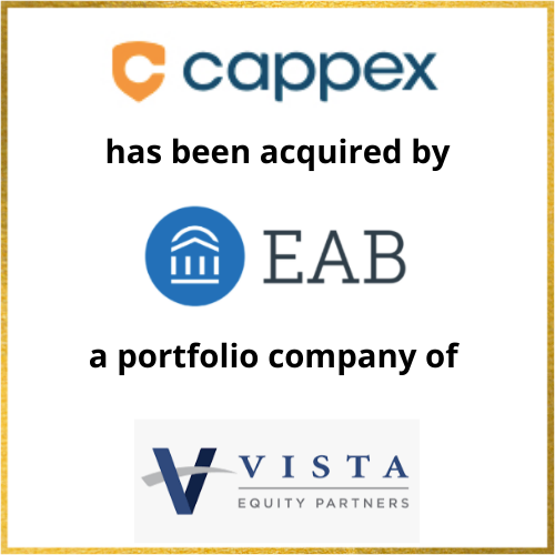 Cappex has been acquired by EAB, a portfolio company of Vista Equity Partners