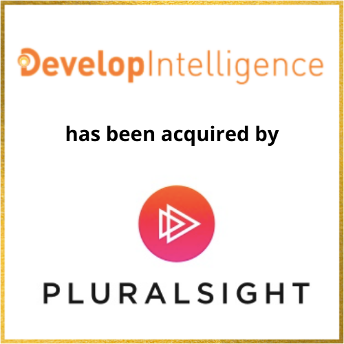 DevelopIntelligence has been acquired by Pluralsight
