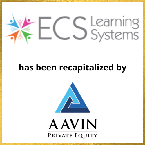 ECS Learning Systems has been recapitalized by AAVIN Private Equity