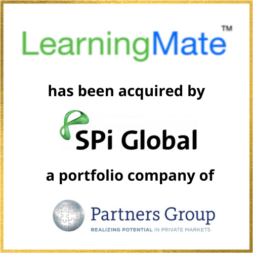 LearningMate has been acquired by SPi Global, a portfolio company of Partners Group